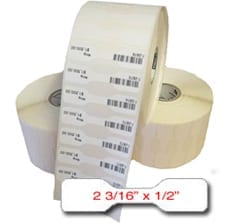Thermal Jewelry Tags 2 3/16in x 1/2in
