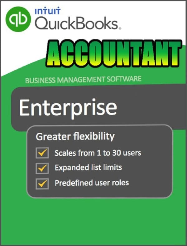 QuickBooks Enterprise Accountant Edition