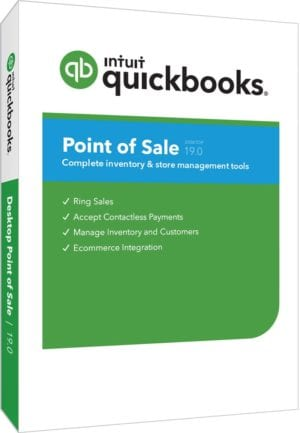 QuickBooks Pont of Sale 19.0