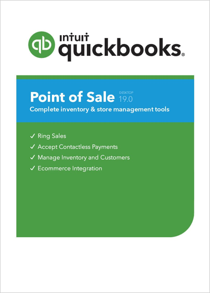 QuickBooks Pont of Sale 19.0